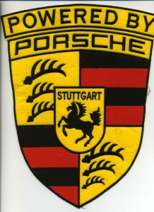 Porsche embroidery