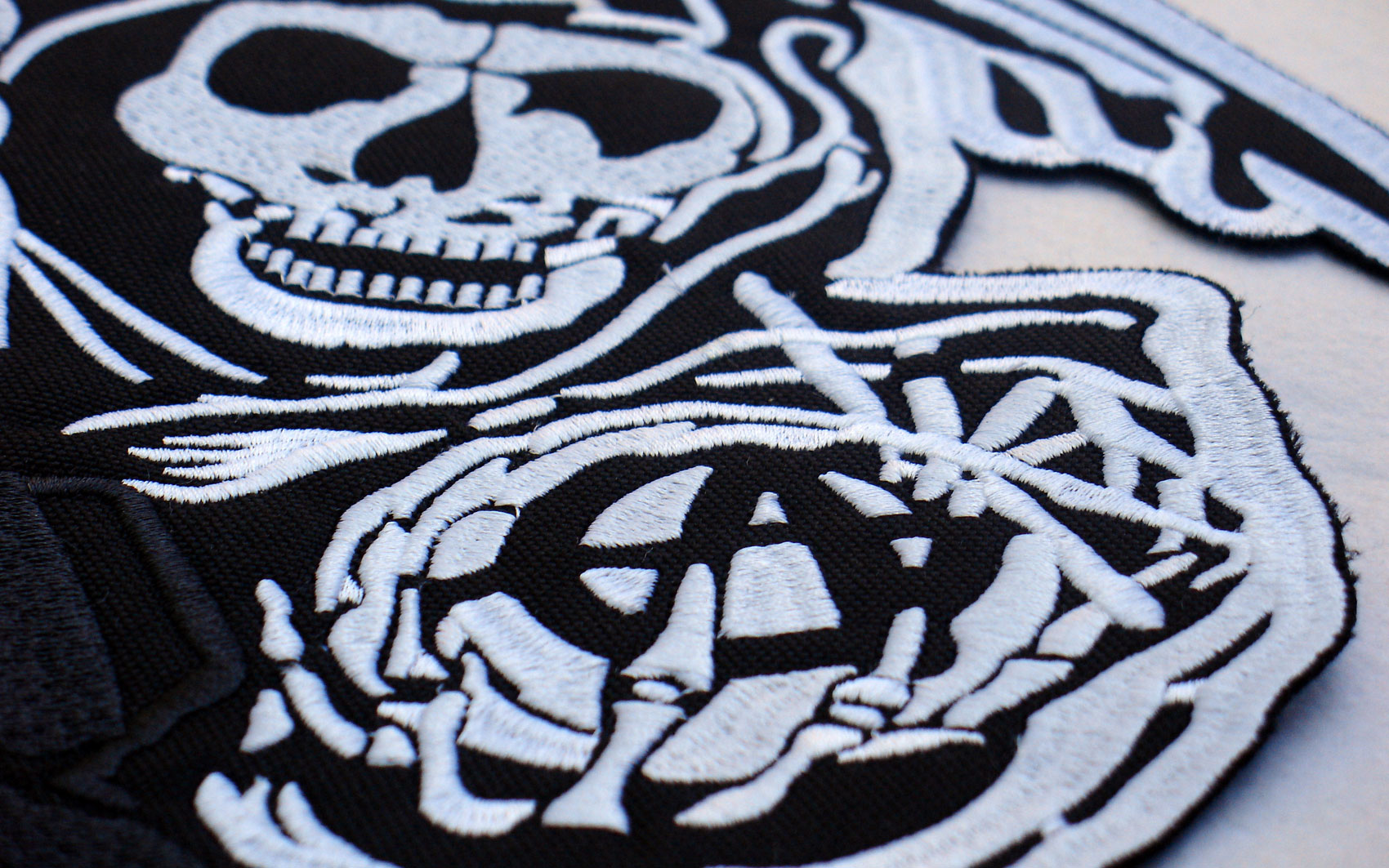 The Easy way to make embroidered patches. - YouTube
