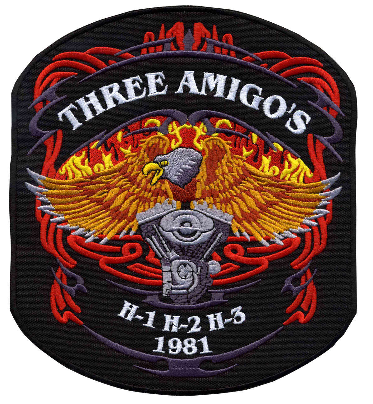 Biker Patches Motorcycle Patches Custom Embroidered