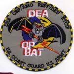 DEA OP BAT – Military Patch
