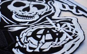 Sons of Anarchy movie custom embroidered patch